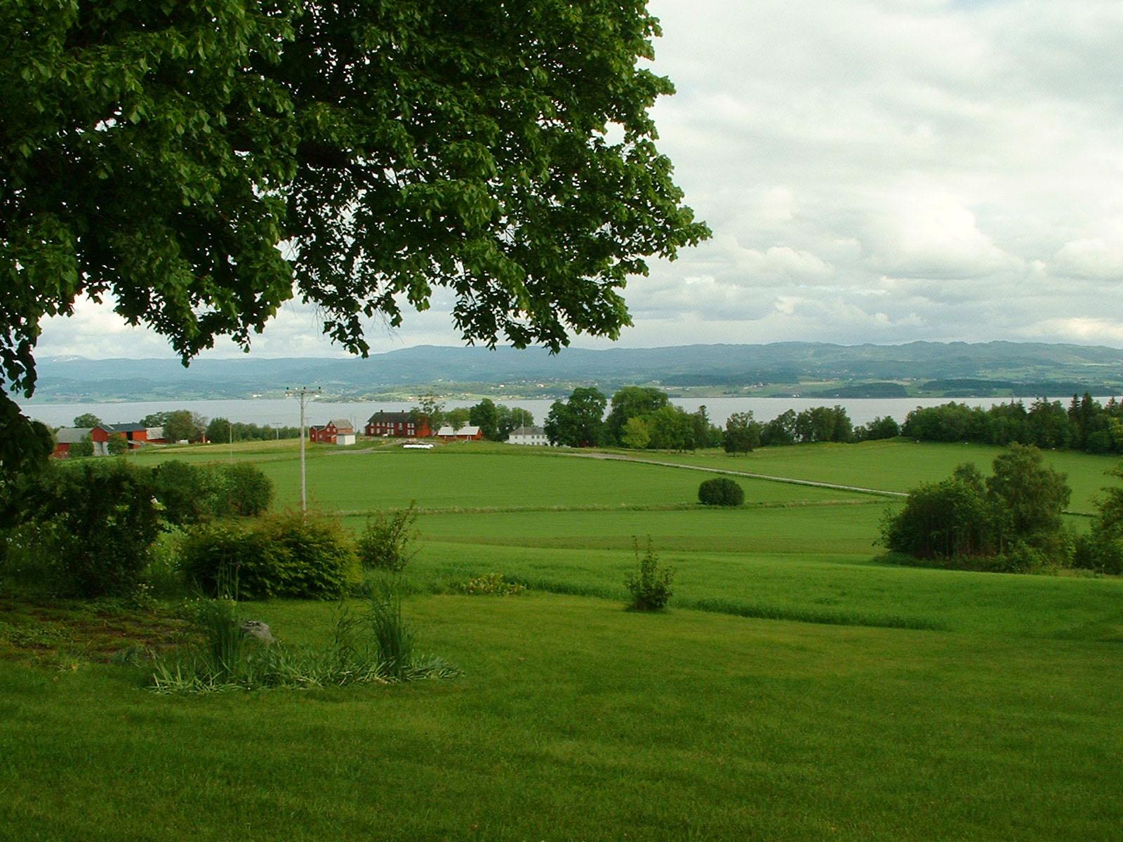 Ytterøya - utsikt mot Forberg