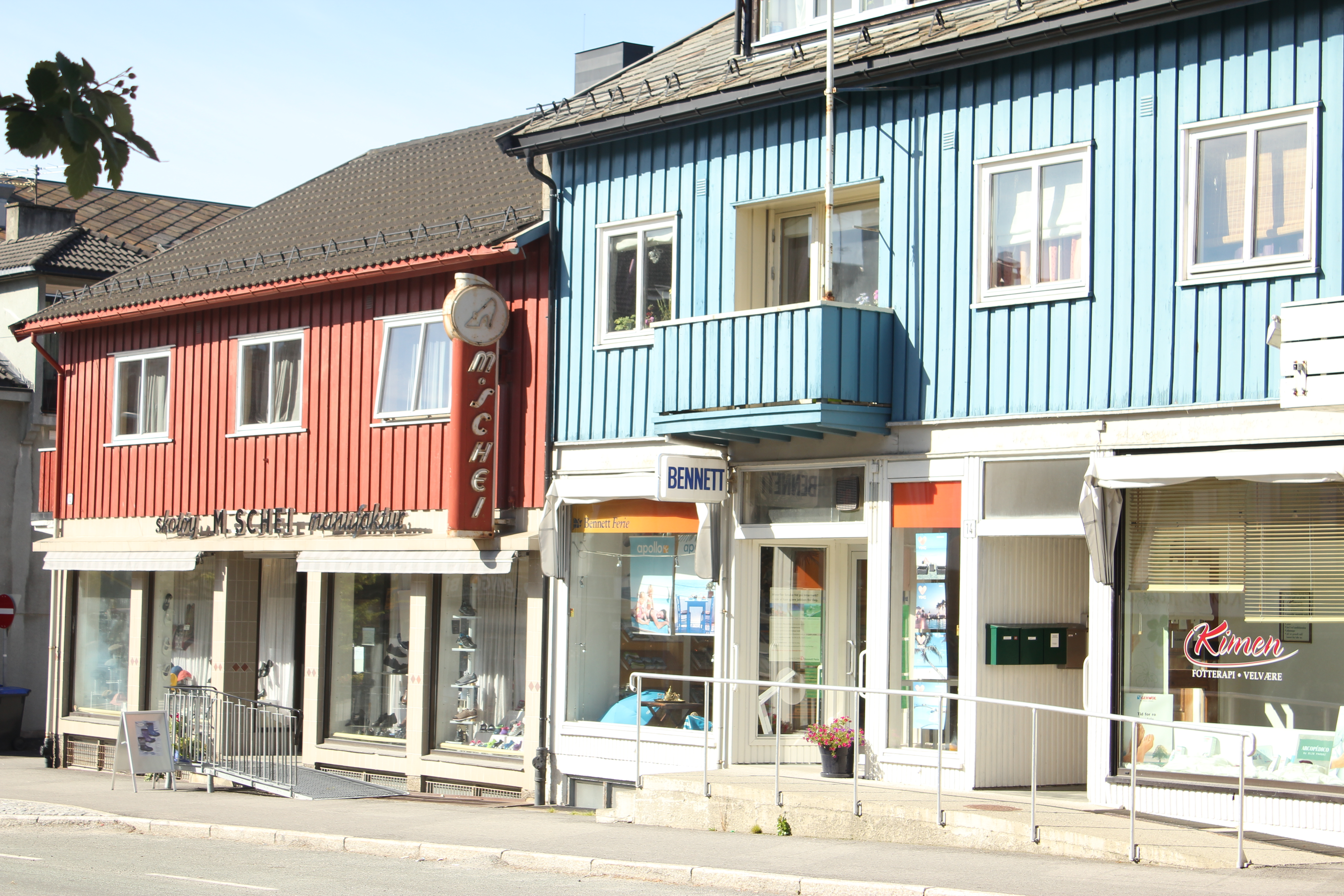 Gjenreisningbyen Steinkjer - M. Schei manufactur