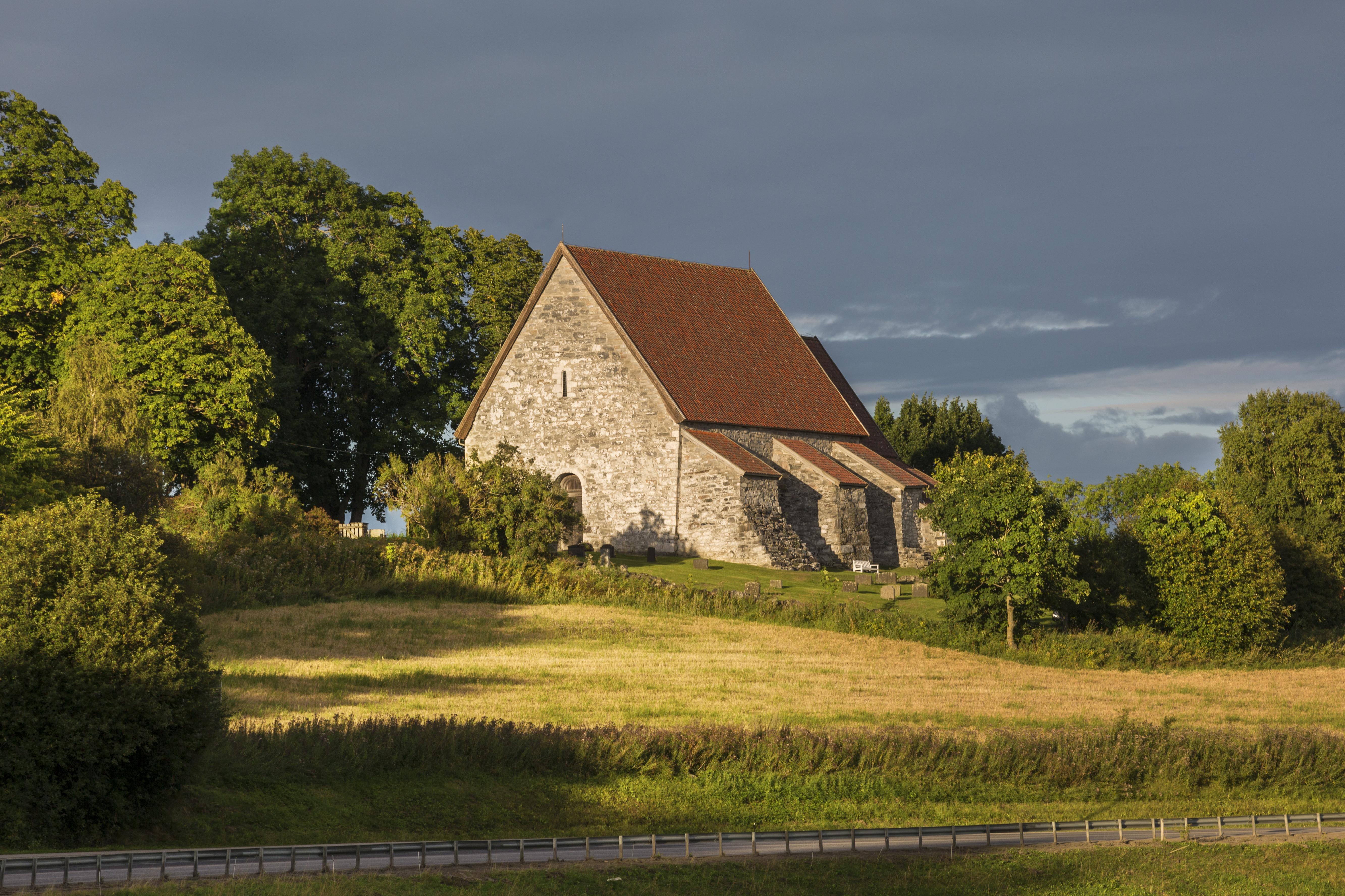 Sakshaug Gamle Kirke på Inderøy. Foto: LenaJohnsen