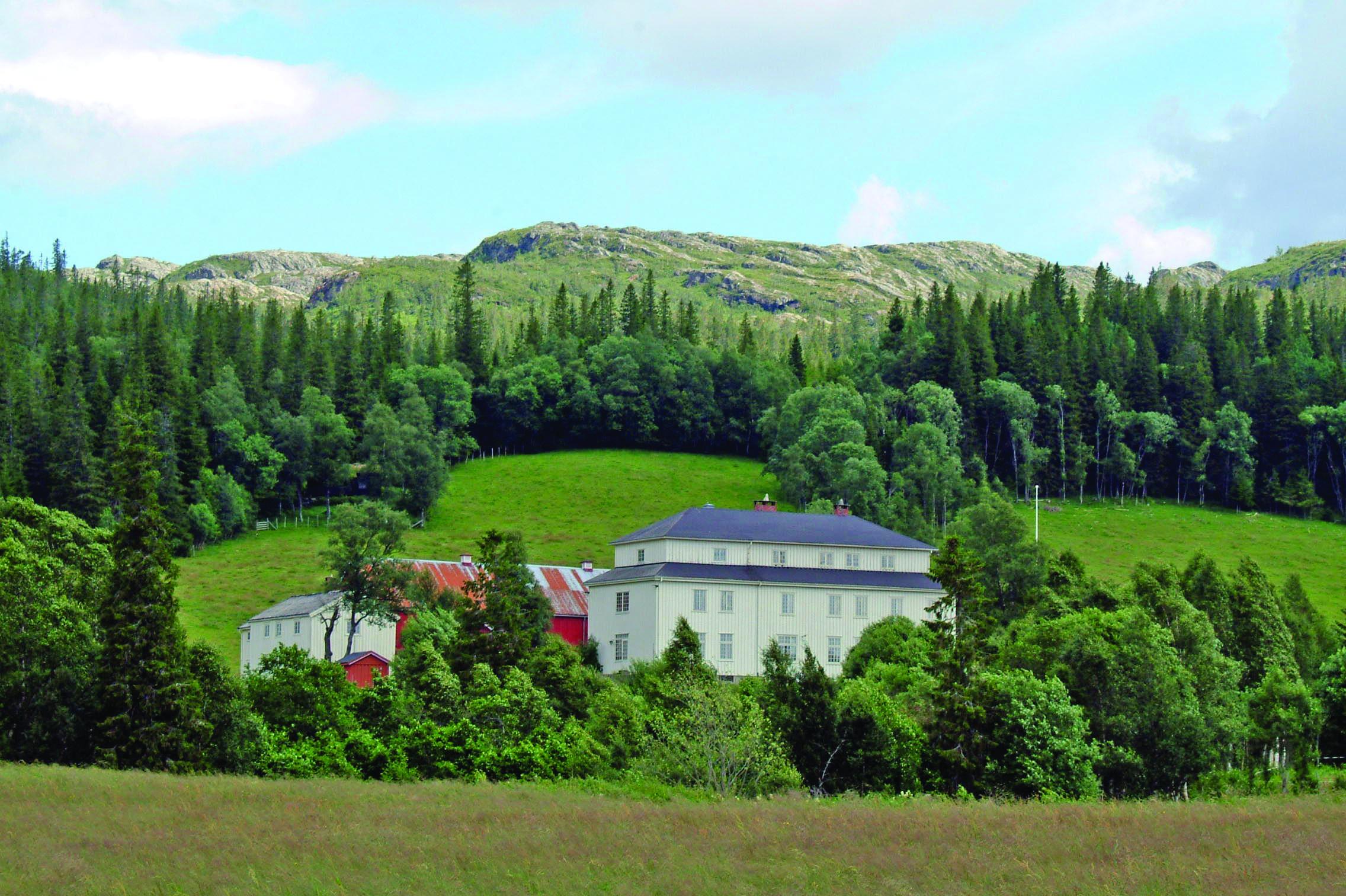 Mokk gård, Overnatting i Ogndal, Steinkjer