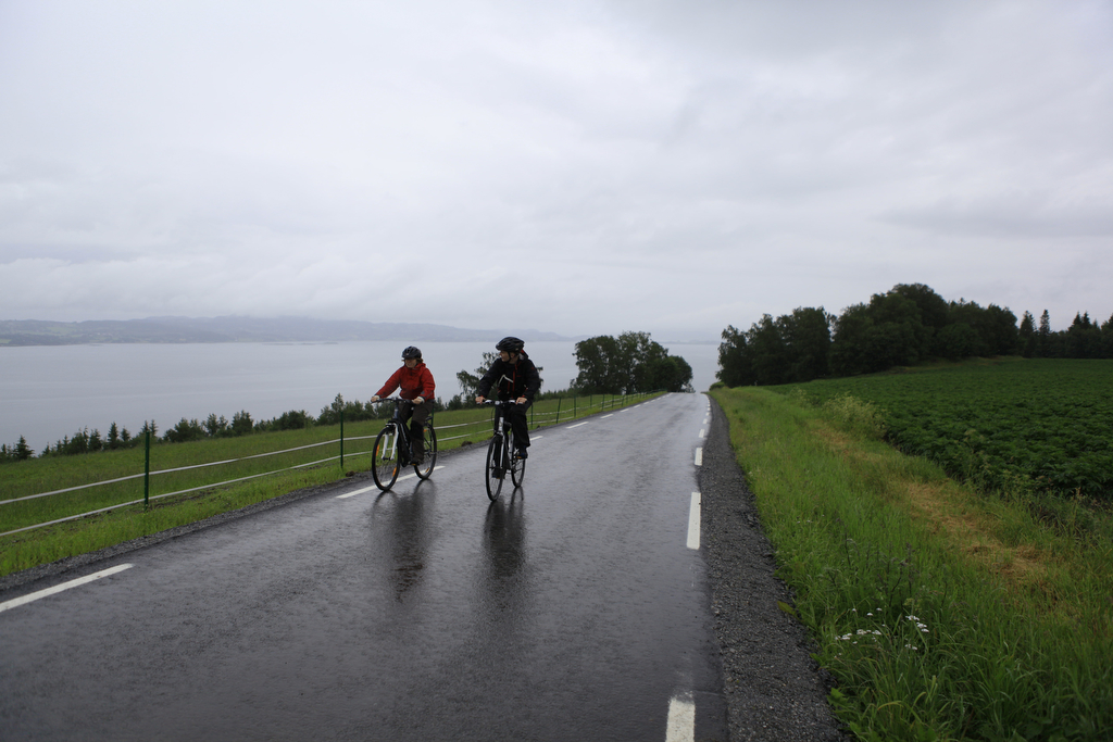 Sykkeltur på Ytterøya Foto: Steinkjerfotografen