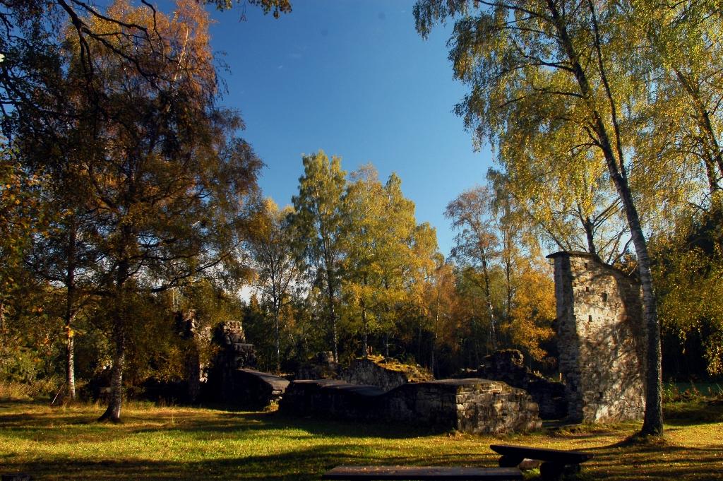 Klosterruinene på Munkeby