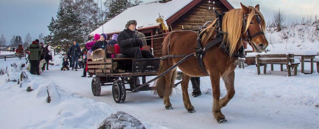 Jul på Stiklestad Foto: Øyvind Malum