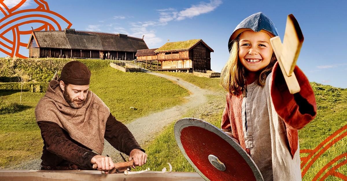 Overnatting og opplevelser for hele familien på Stiklestad Nasjonale Kultursenter