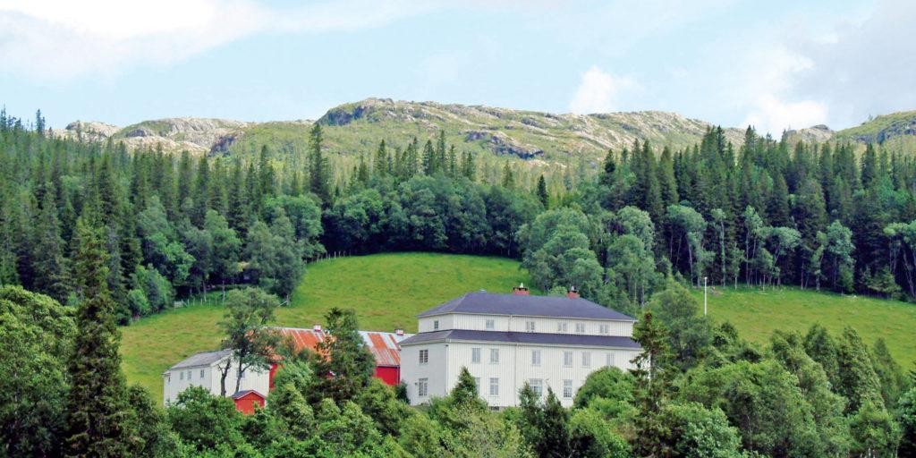 Mokk Gård i Ogndal, Steinkjer, Innherred i Trøndelag