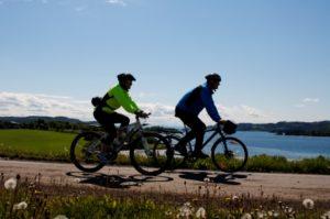 Sykkel forbi Røli