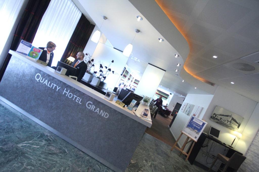Resepsjonen, Quality Hotel Grand Steinkjer