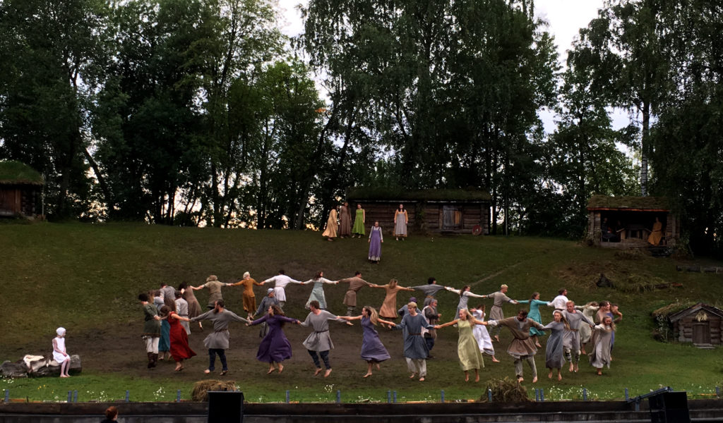 Spelet om Heilag Olav 2016 Photo: Visit Innherred