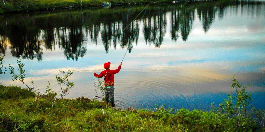 Snåsafjell Fiske -Foto Olgeir Haug