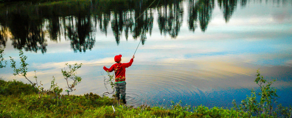 Fiske i Snåsafjellet Foto Olgeir Haug