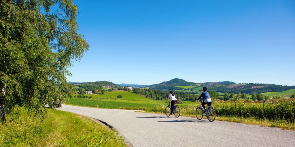 Sykling i Ytterøy Trondheimfjrodens Perle. Foto: Steinkjerfotografen