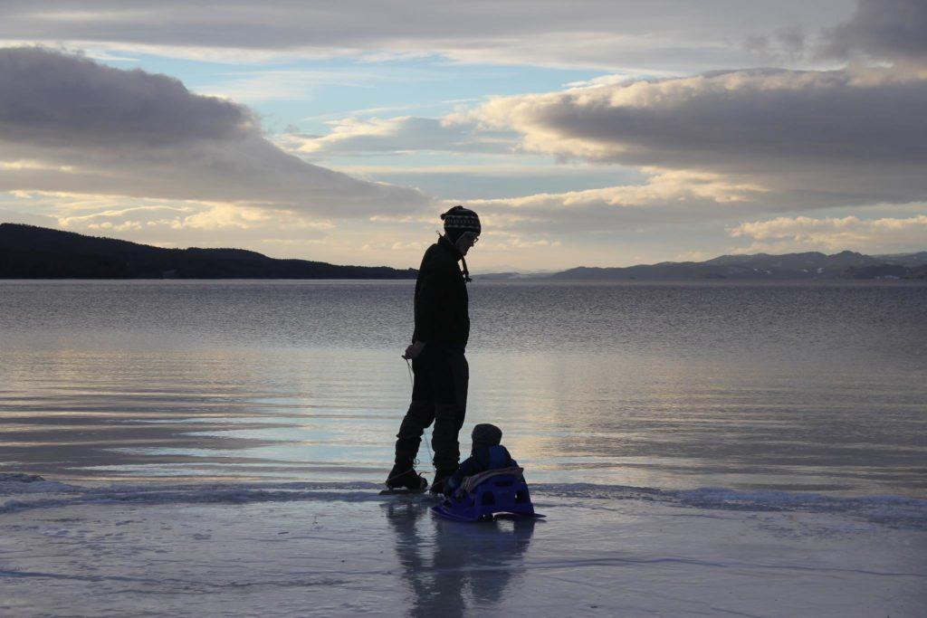 Vinteraktiviteter rundt Snåsavatnet