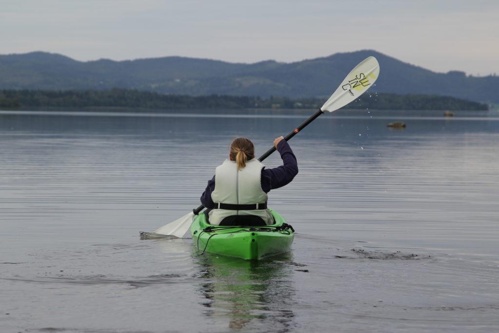 Padling på Snåsavatnet