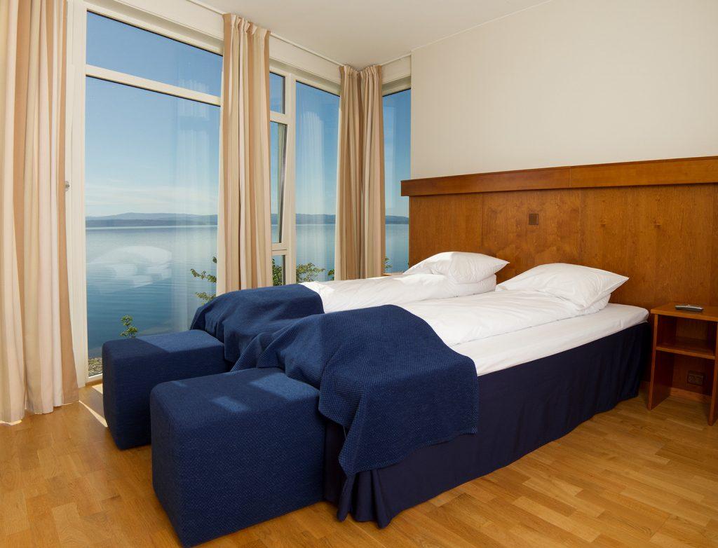 Suite med fjordutsikt på Jægtvolden Fjordhotell