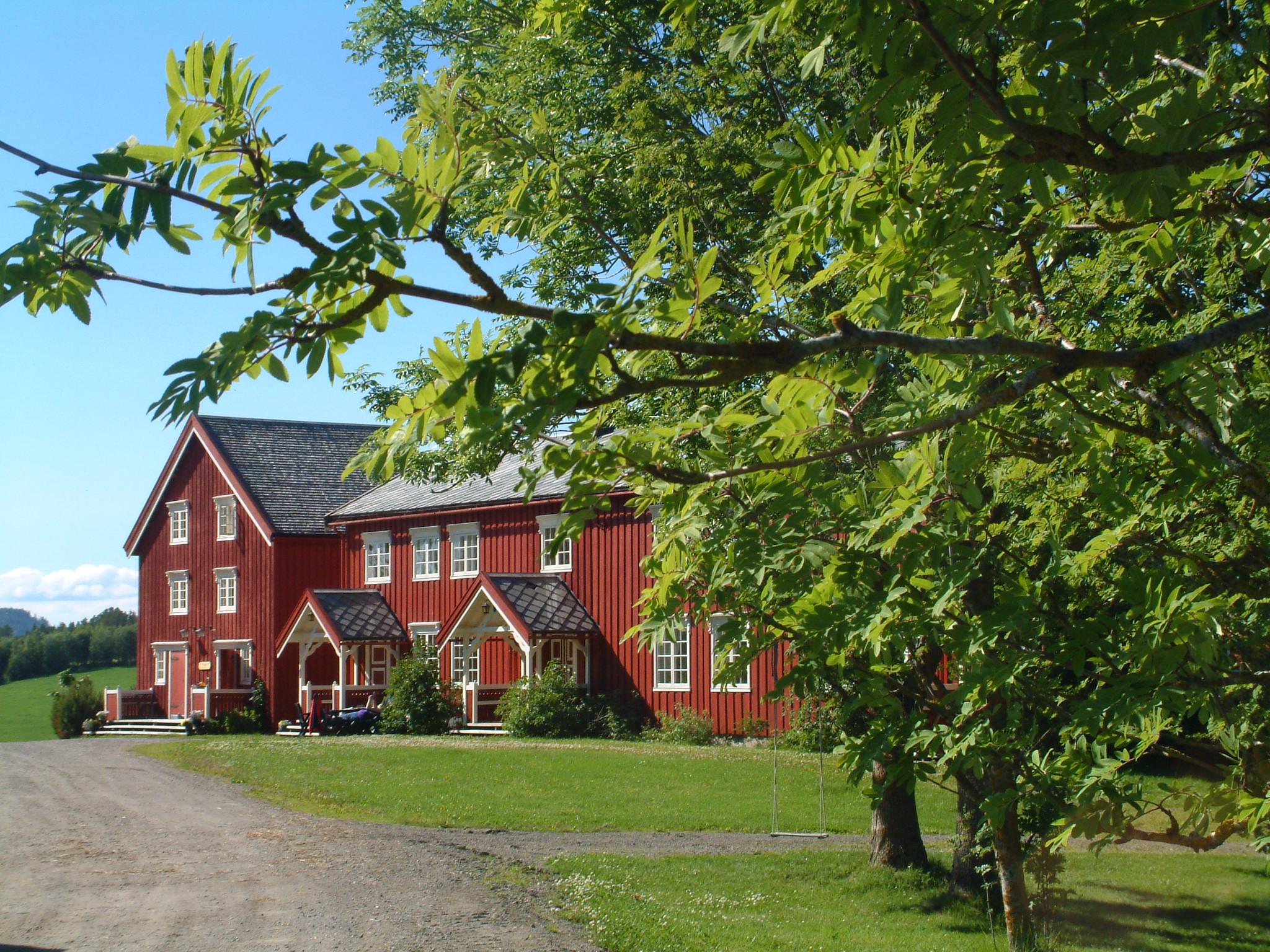 Kulturgården Bjerkem på Henning i Steinkjer kommune