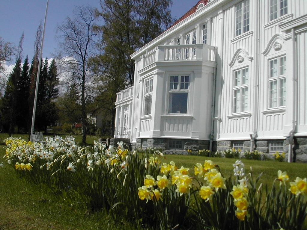 Fylkesmannsgården på Egge Museum i Steinkjer