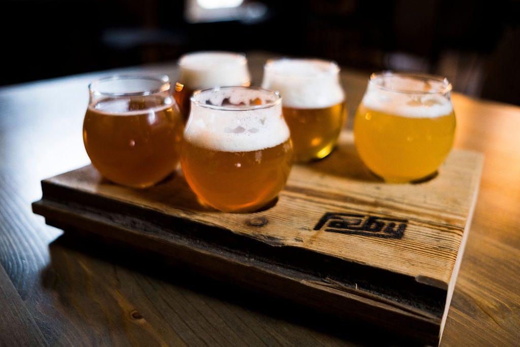 Øl og matopplevelser hos Fæby Bryggeri i Verdal. Foto: Espen Storhaug