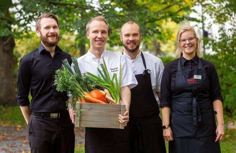 Kokker og servitører Thon Hotell Backlund